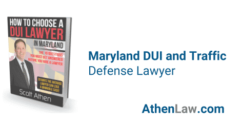 Maryland DUI and Traffic Defense Lawyer Scott Athen